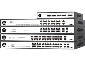 COMMANDO Scout E1000-LR Series Long Range Unmanaged Switches