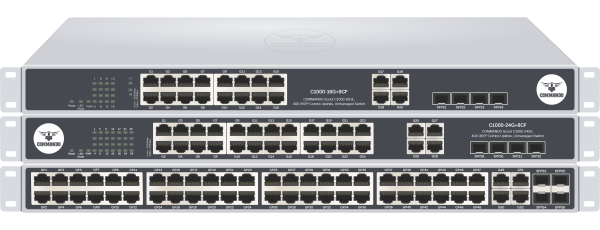 SCOUT C1000 Series Gigabit non-PoE Switches