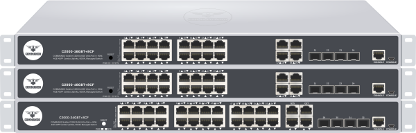 SOLDIER C2000 Series Ultra PoE++ Managed Switches