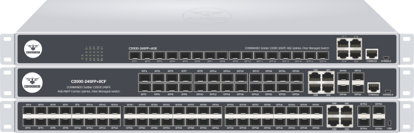 SOLDIER C2000 Series Fiber Managed Switches