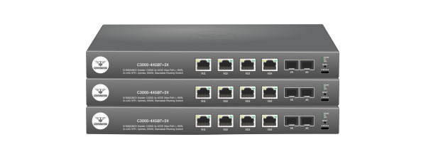 SOLDIER C3000 Series 10GE Ultra PoE++ Stackable Routing Switches