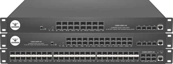 SOLDIER C3000 Series Fiber Stackable Routing Switches
