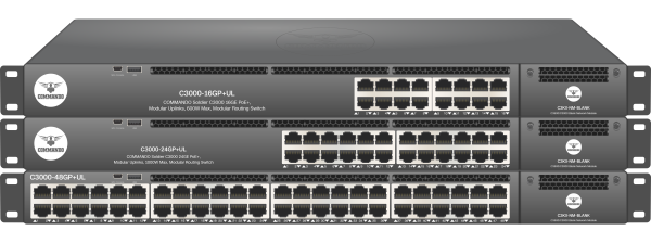 SOLDIER C3000 Series PoE+ Modular Routing Switches