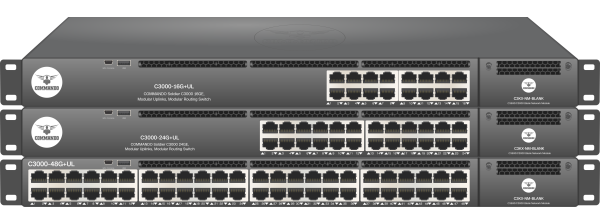 SOLDIER C3000 Series non-PoE Modular Routing Switches