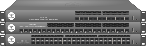 MARSHALL C3500 Series 10G SFP+ Fiber Routing Switches