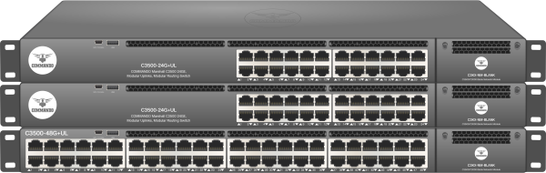 MARSHALL C3500 Series non-PoE Modular Routing Switches