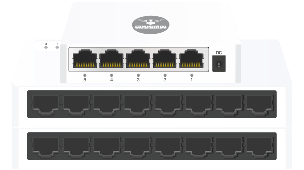SCOUT E100 Series Fast Ethernet Switches
