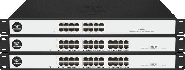 SCOUT E300 Series non-PoE Switches