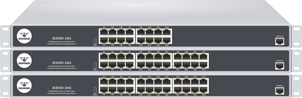 SOLDIER IE2000 Series non-PoE Industrial Ethernet Managed Switches