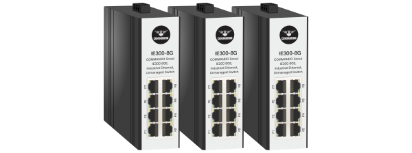 SCOUT IE300 Series Gigabit Ethernet Industrial Switches
