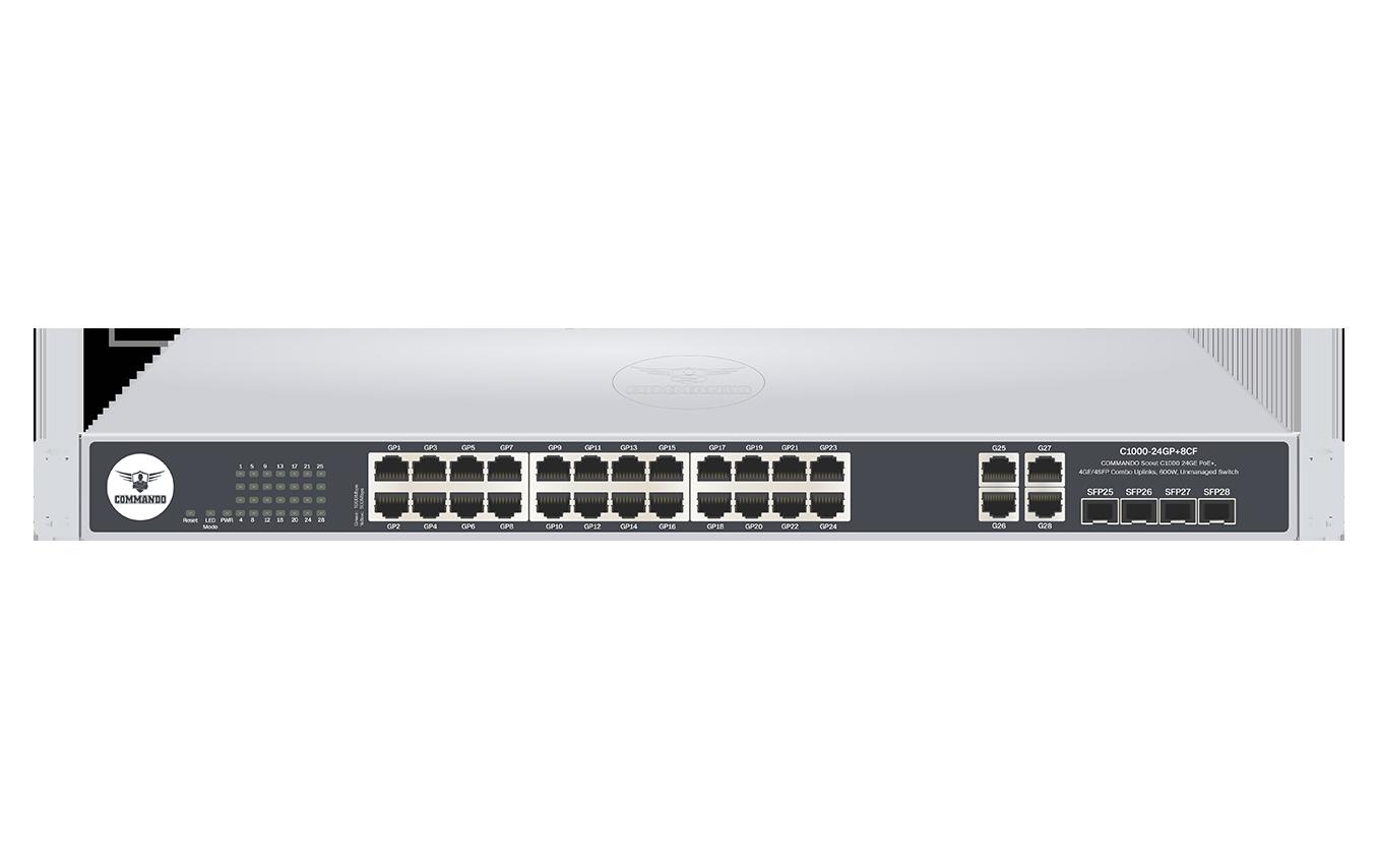 C1000-24GP+8CF