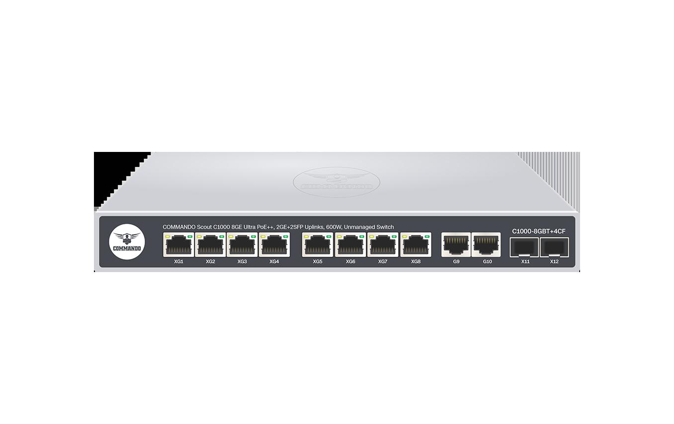 C1000-8GBT+4CF