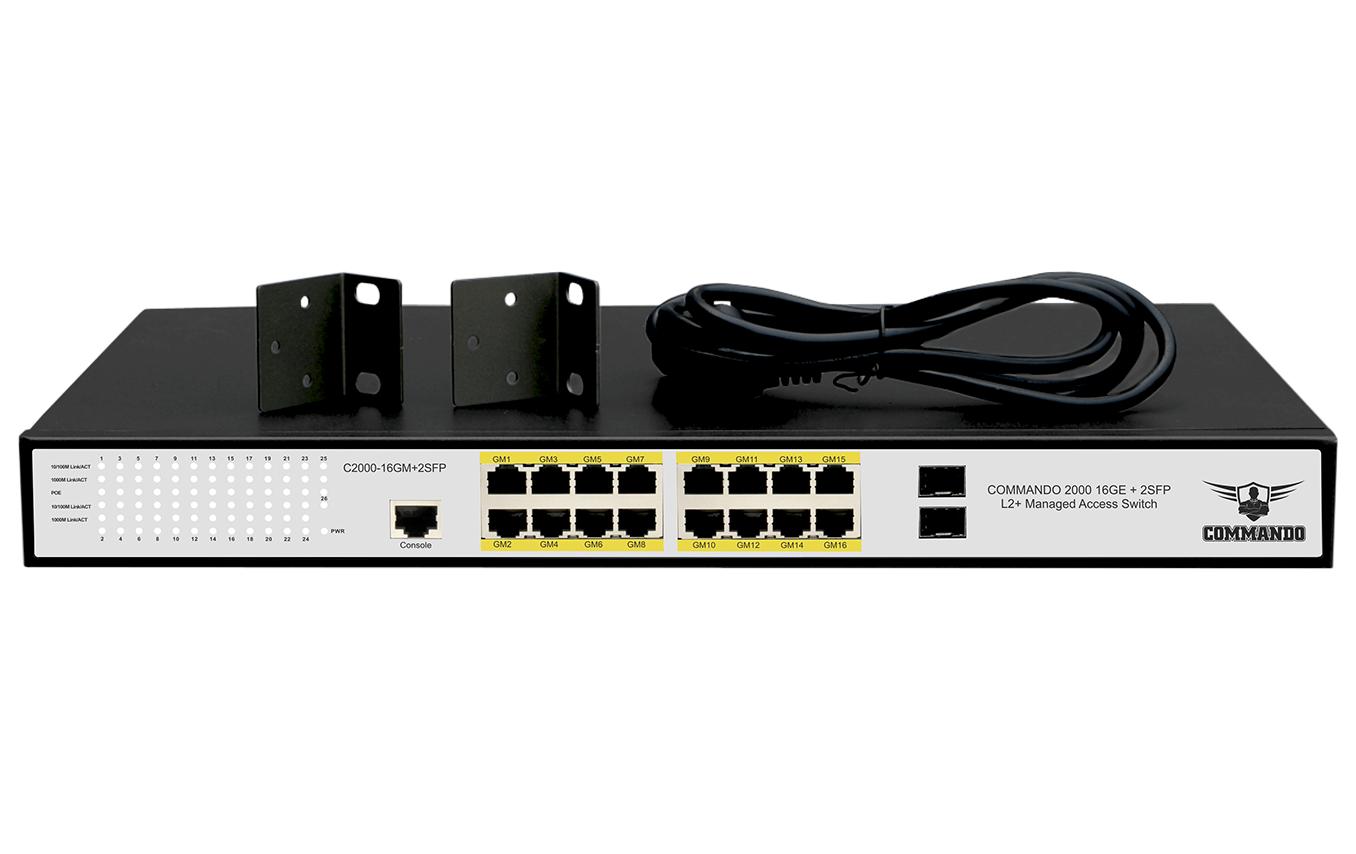 C2000-16GM+2SFP