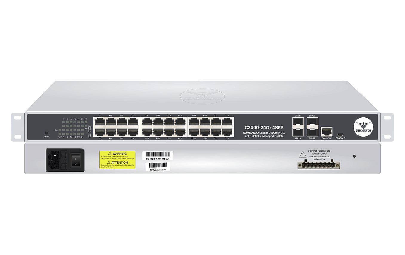 C2000-24G+4SFP-E