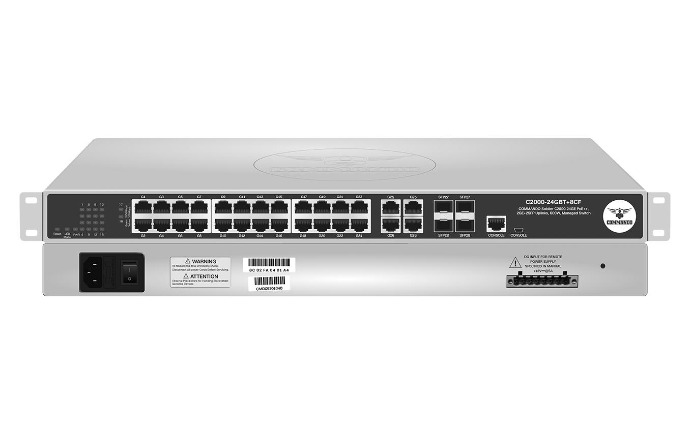 C2000-24GBT+8CF