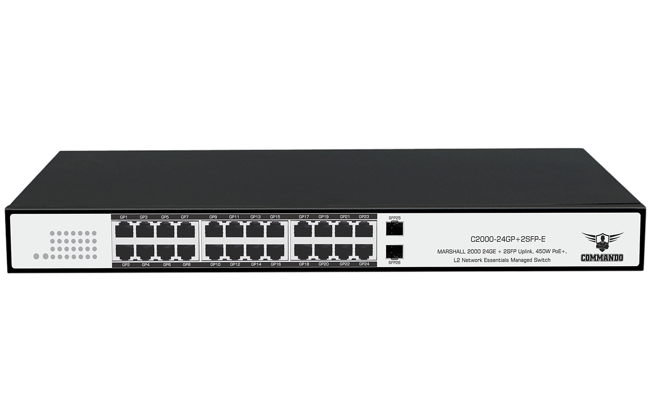C2000-24GP+2SFP-E