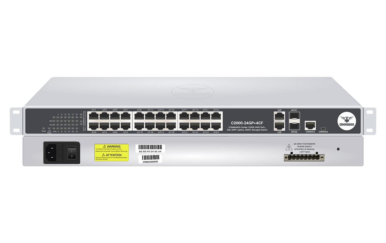 C2000-24GP+4CF