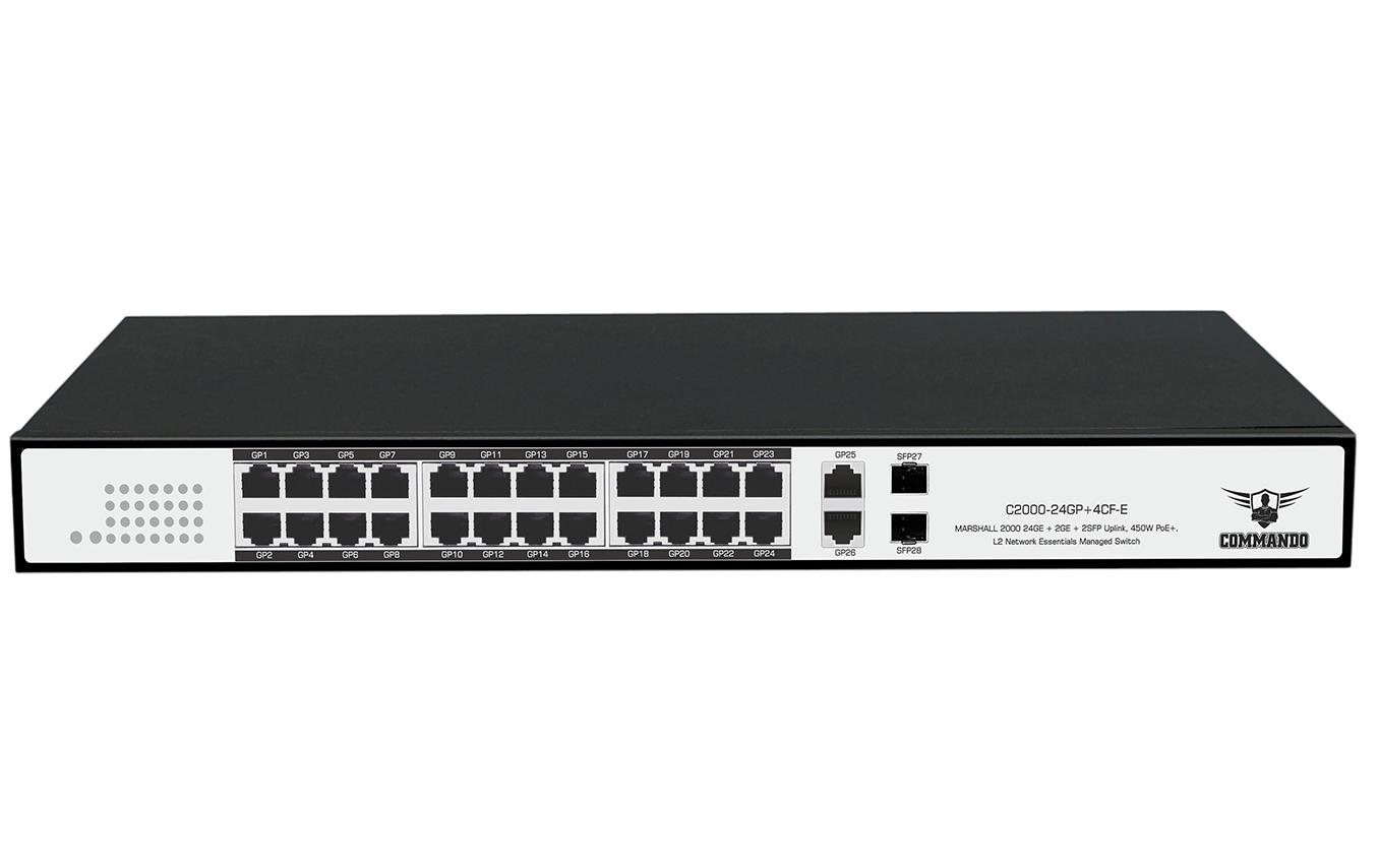 C2000-24GP+4CF-E