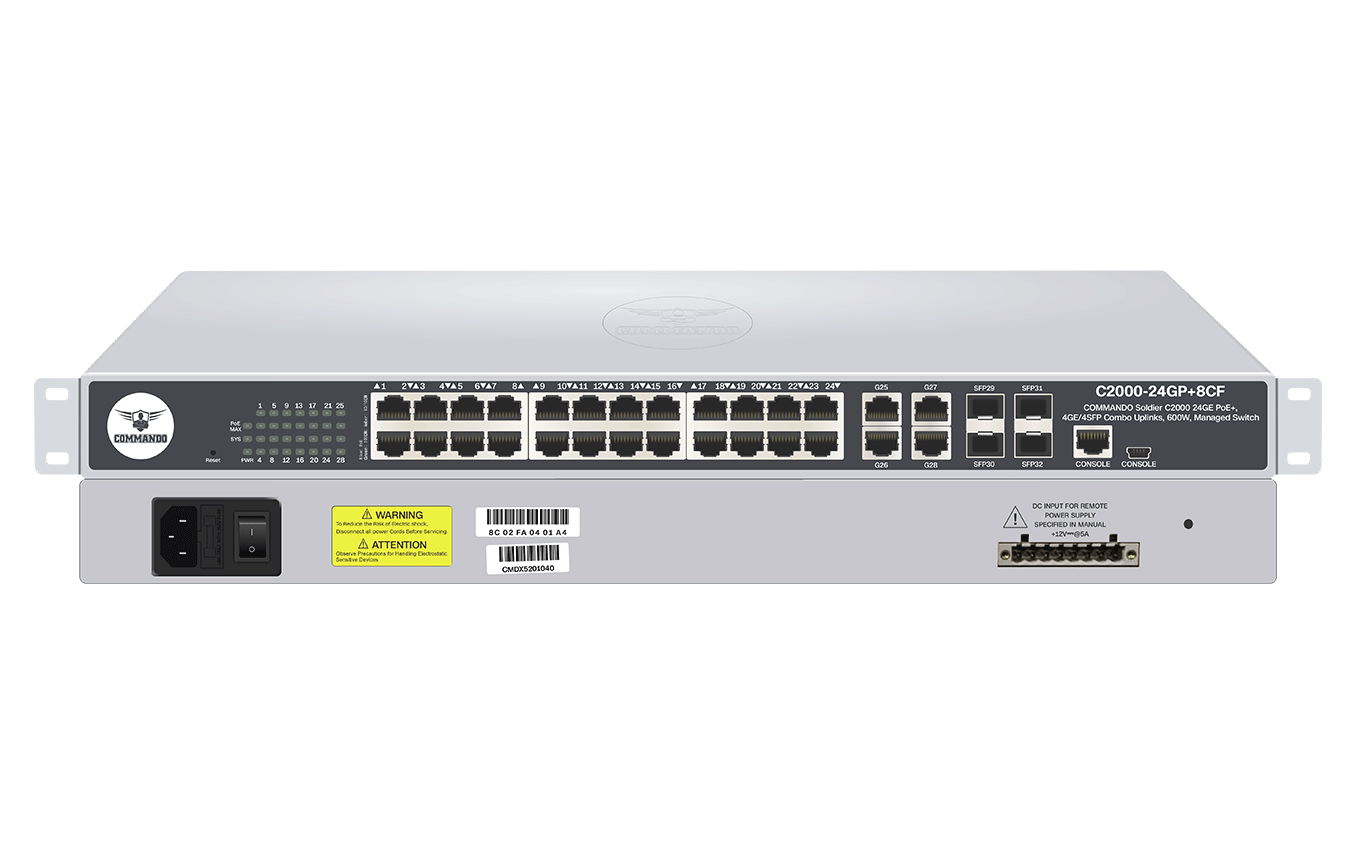 C2000-24GP+8CF