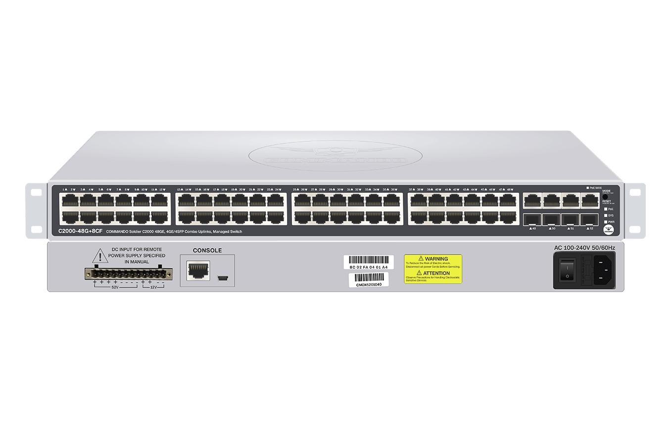 C2000-48G+8CF