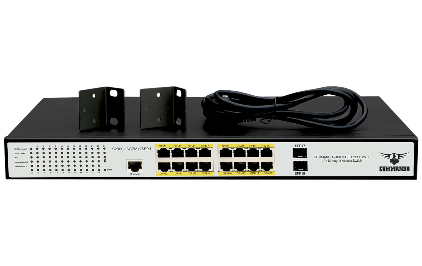 C2000-16GPM+2SFP