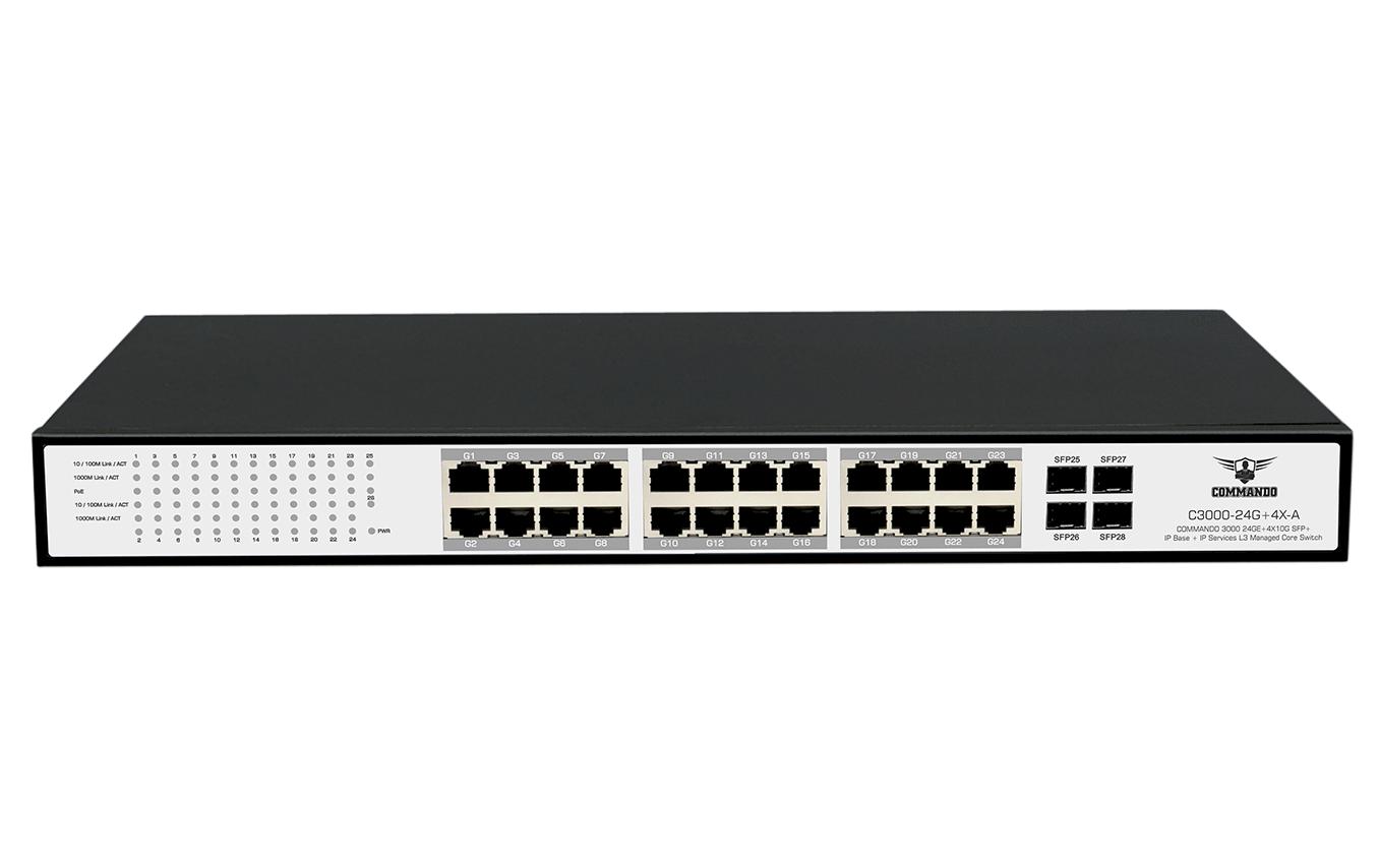 C3000-24G+4X-A