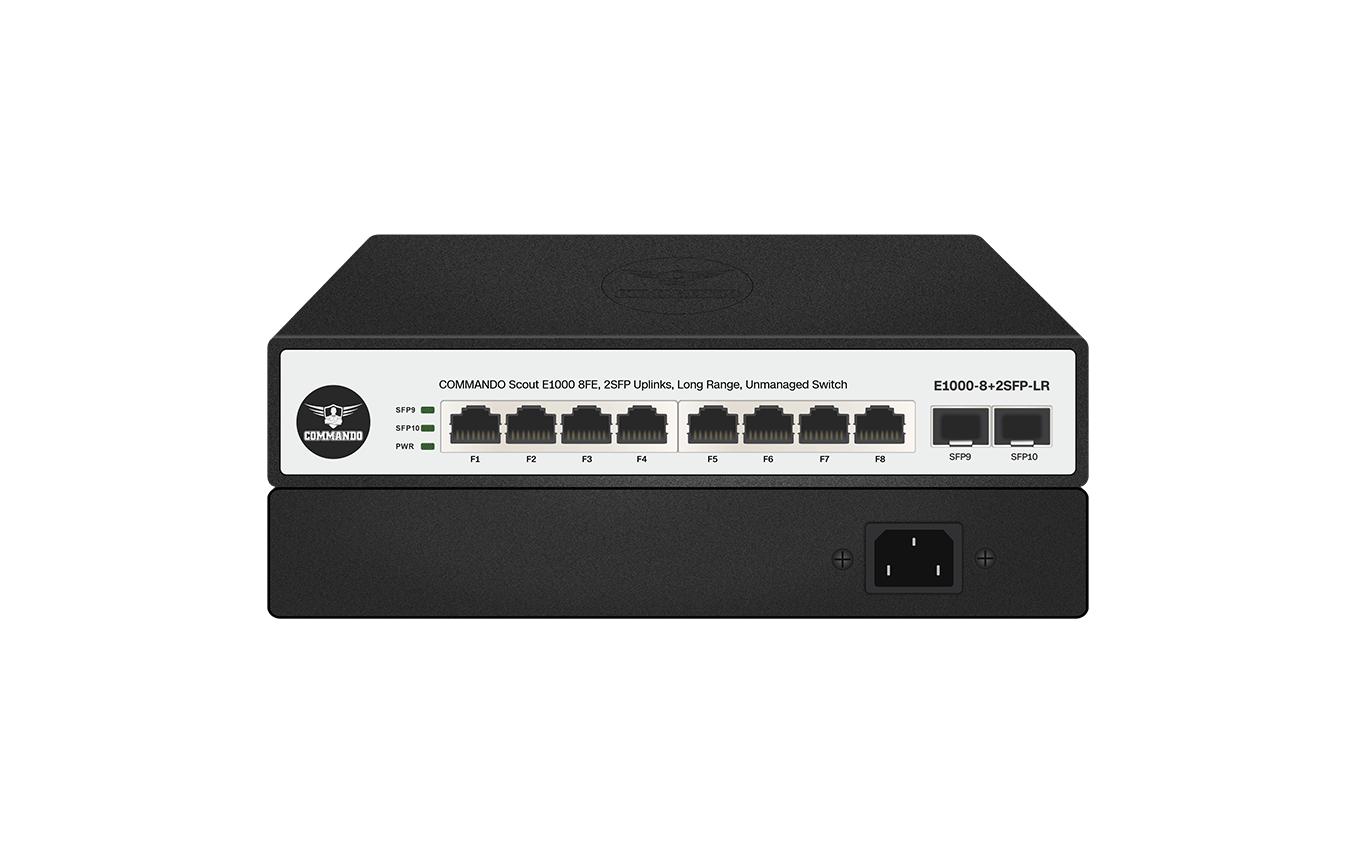 E1000-8+2SFP-LR