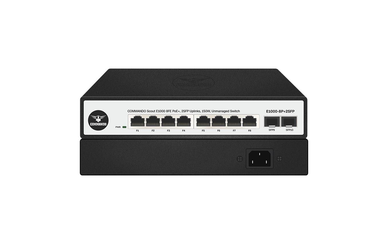 E1000-8P+2SFP