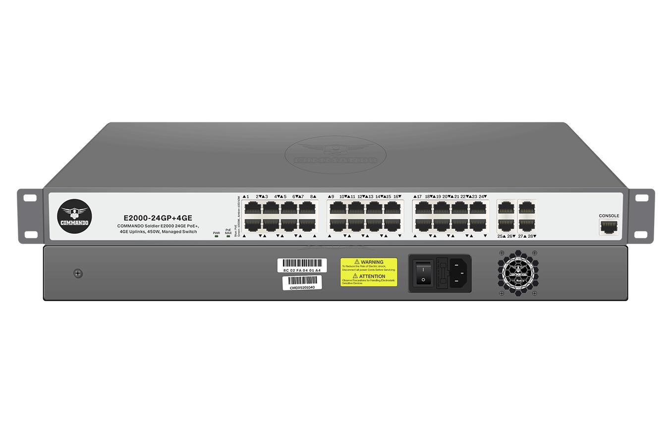 E2000-24GP+4GE
