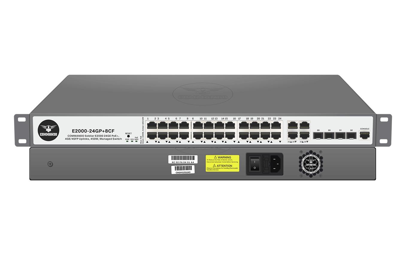E2000-24GP+8CF
