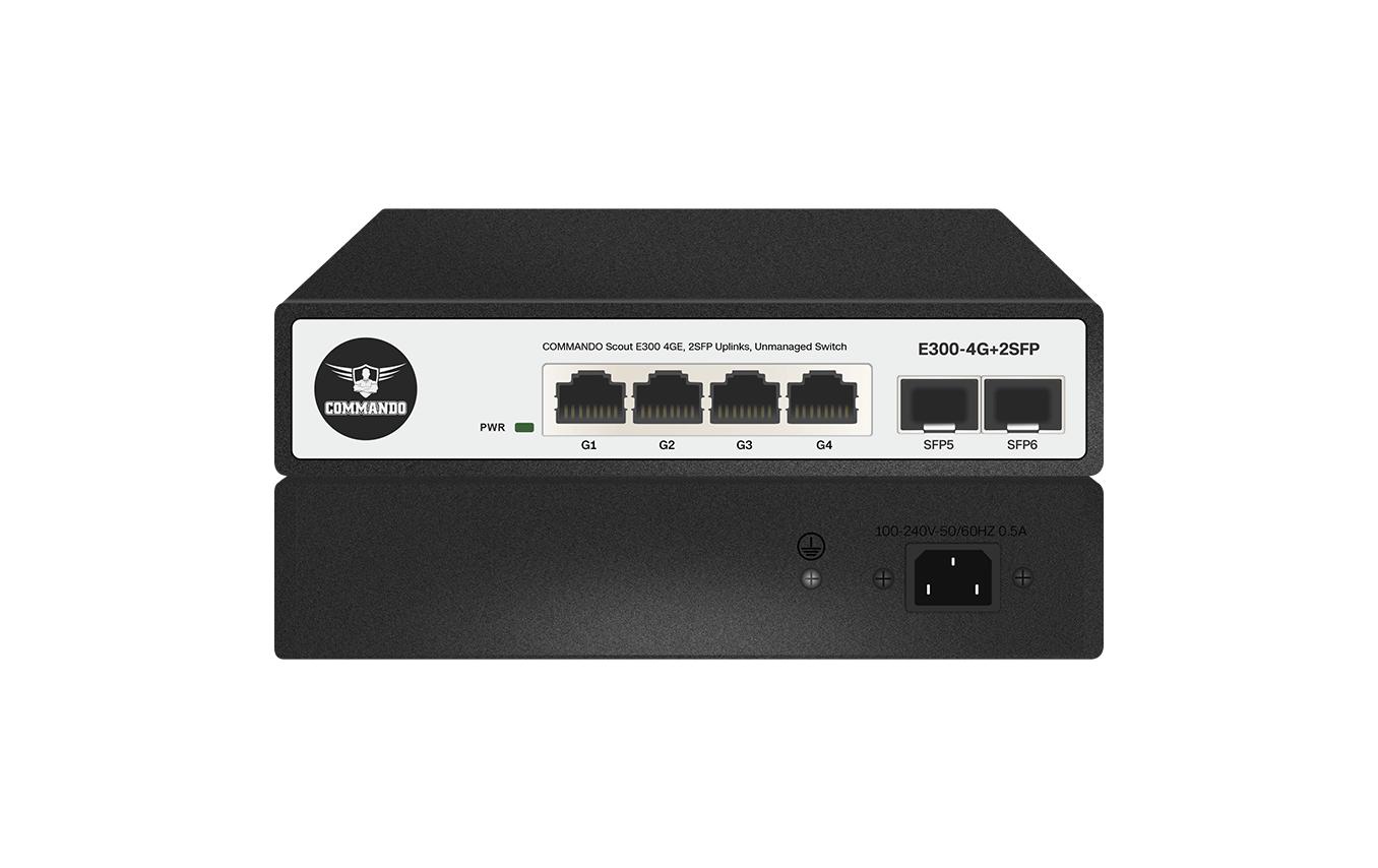 E300-4G+2SFP