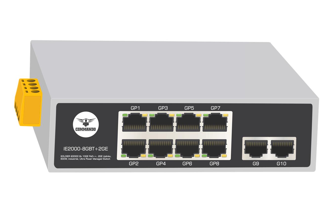 IE2000-8GBT+2GE