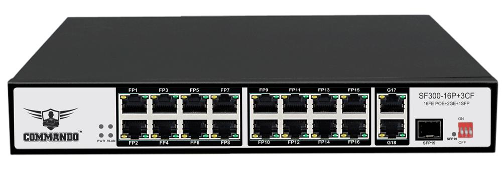 SF300-16P+3CF