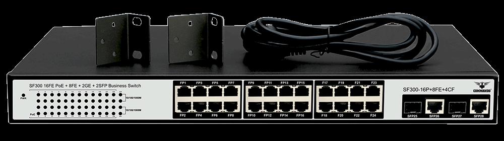 SF300-16P+8FE+4CF