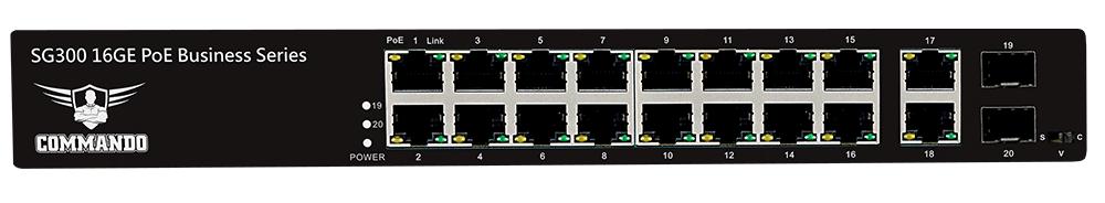 SG300-16PP+4U