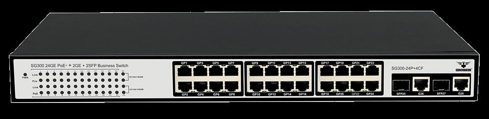 SG300-24P+4CF