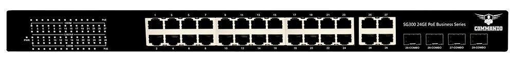 SG300-24PP+4U