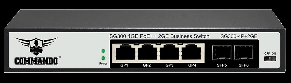 SG300-4P+2GE