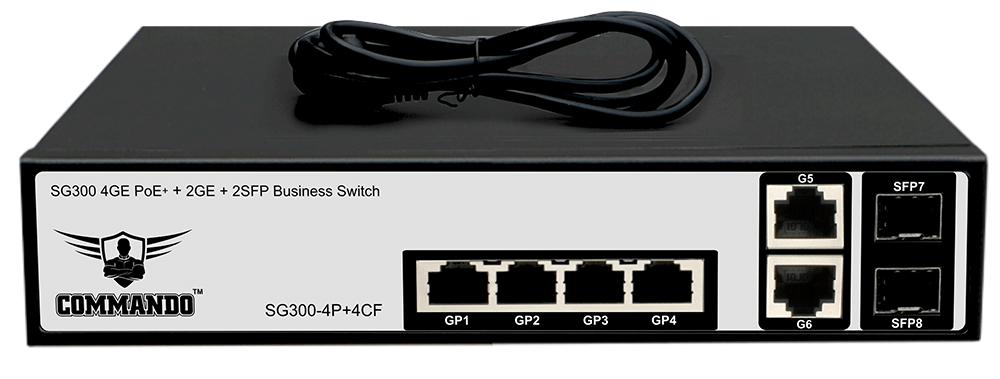 SG300-4P+4CF