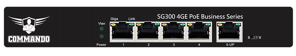 SG300-4PP+1U