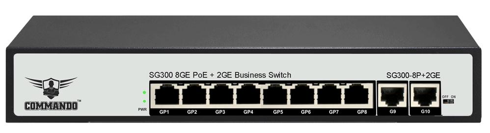 SG300-8P+2GE