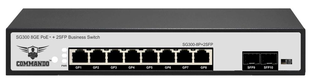 SG300-8P+2SFP