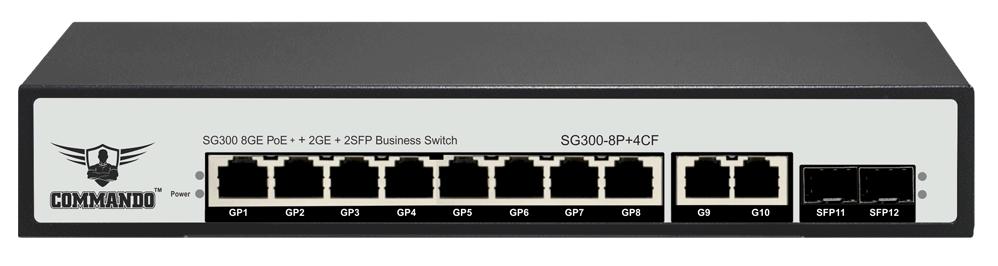 SG300-8P+4CF