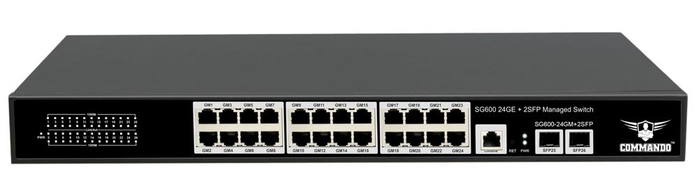 SG600-24GM+2SFP